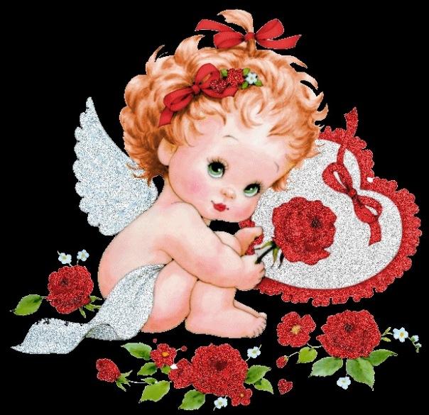 клипарт цветы детки ангелы